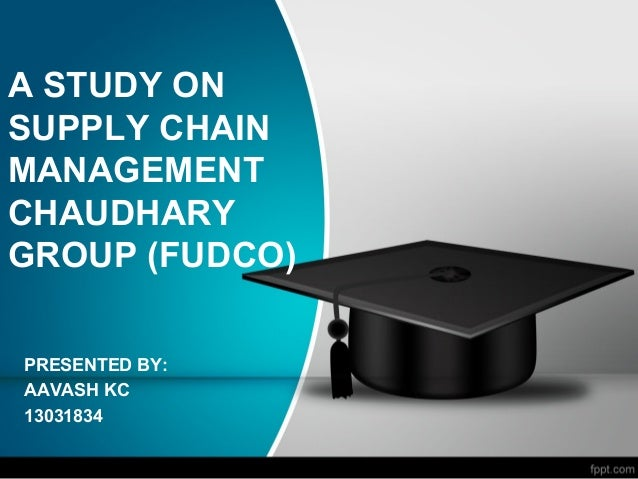 supply chain management study guide