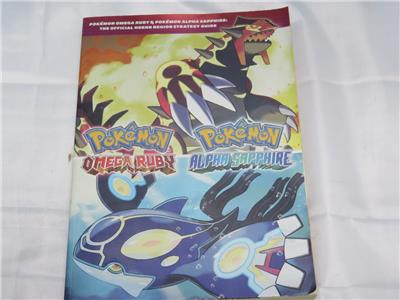 pokemon omega ruby and alpha sapphire official strategy guide