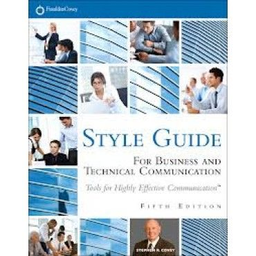style guide for business documents
