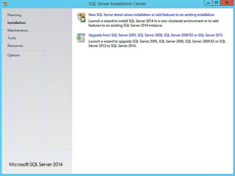 microsoft sql server 2012 express installation guide