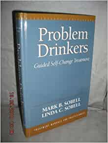 problem drinkers guided self change treatment