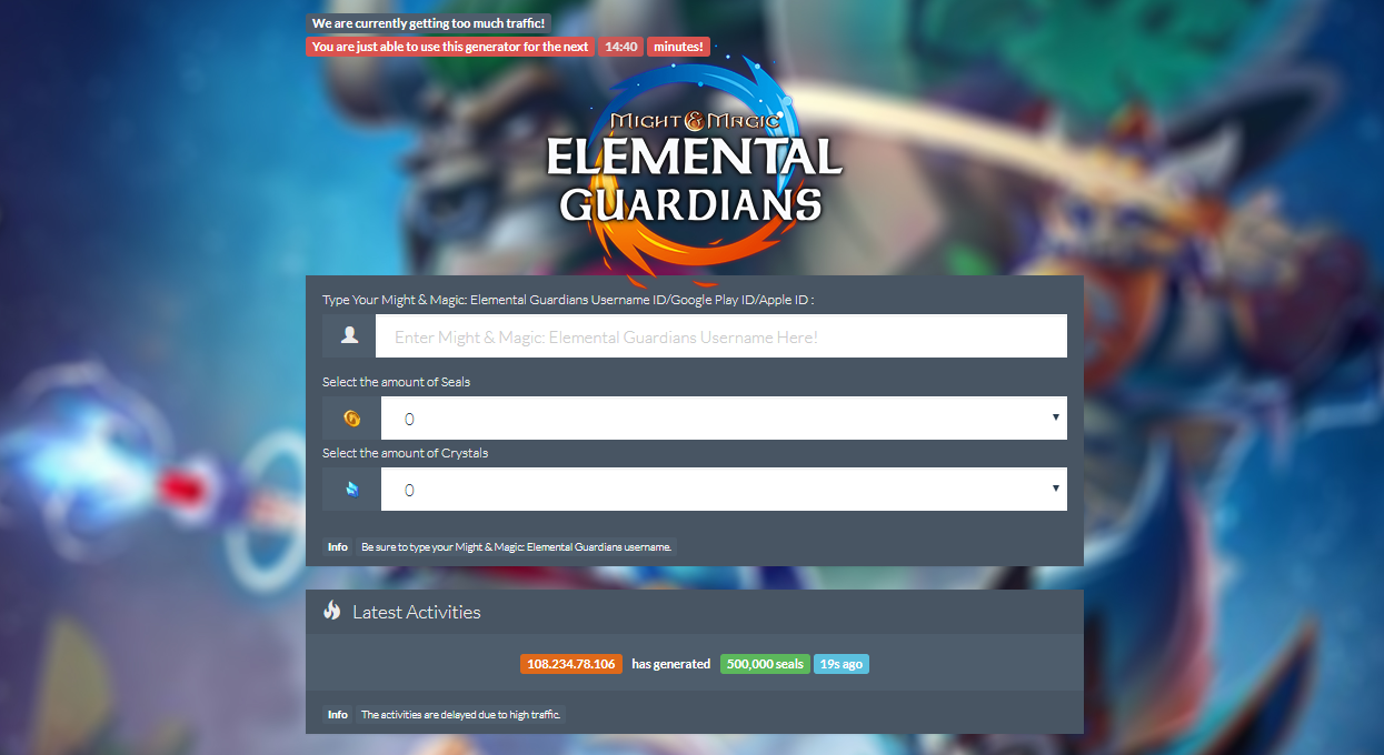 might and magic elemental guardians guide