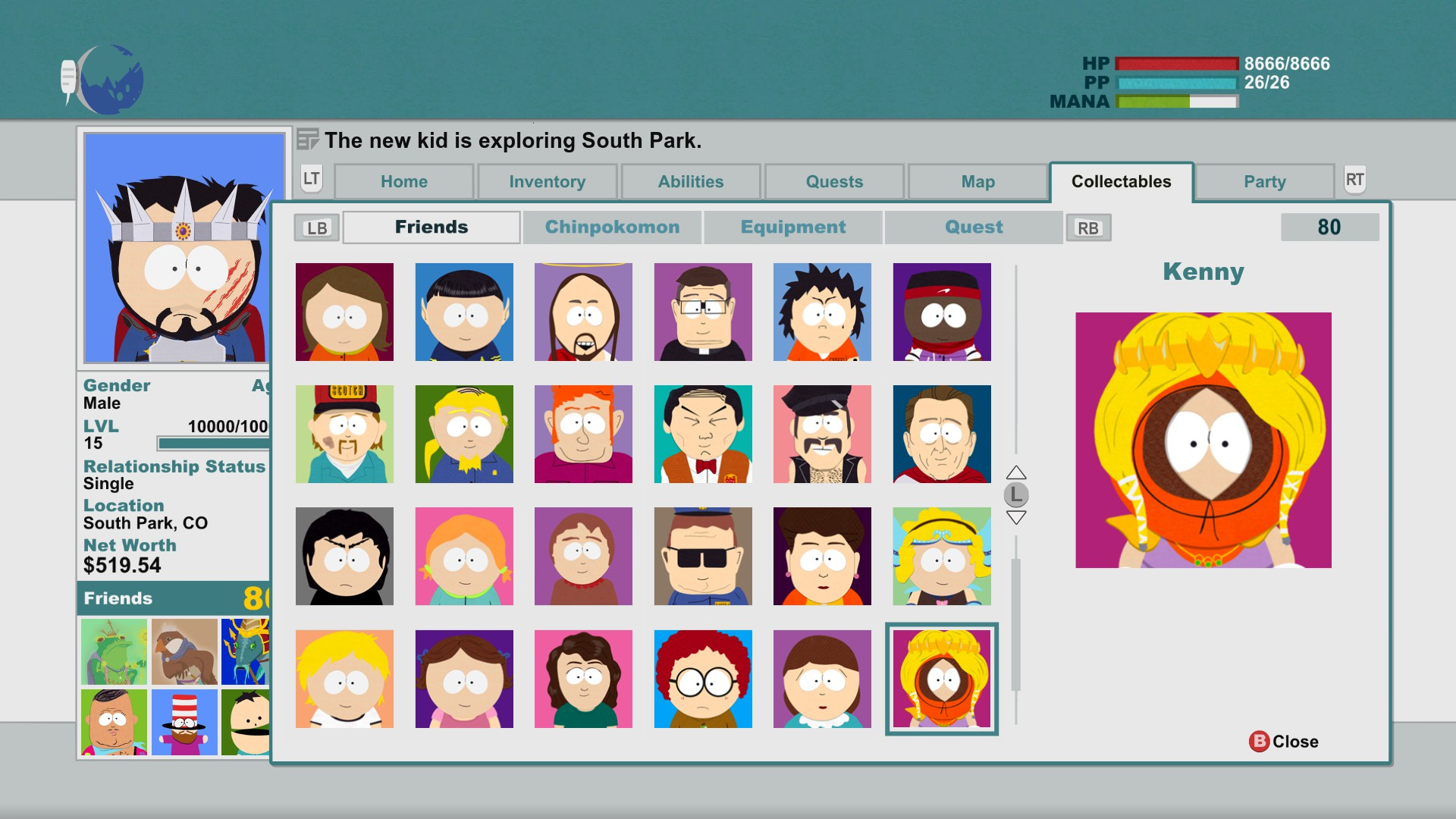 south park stick of truth guide