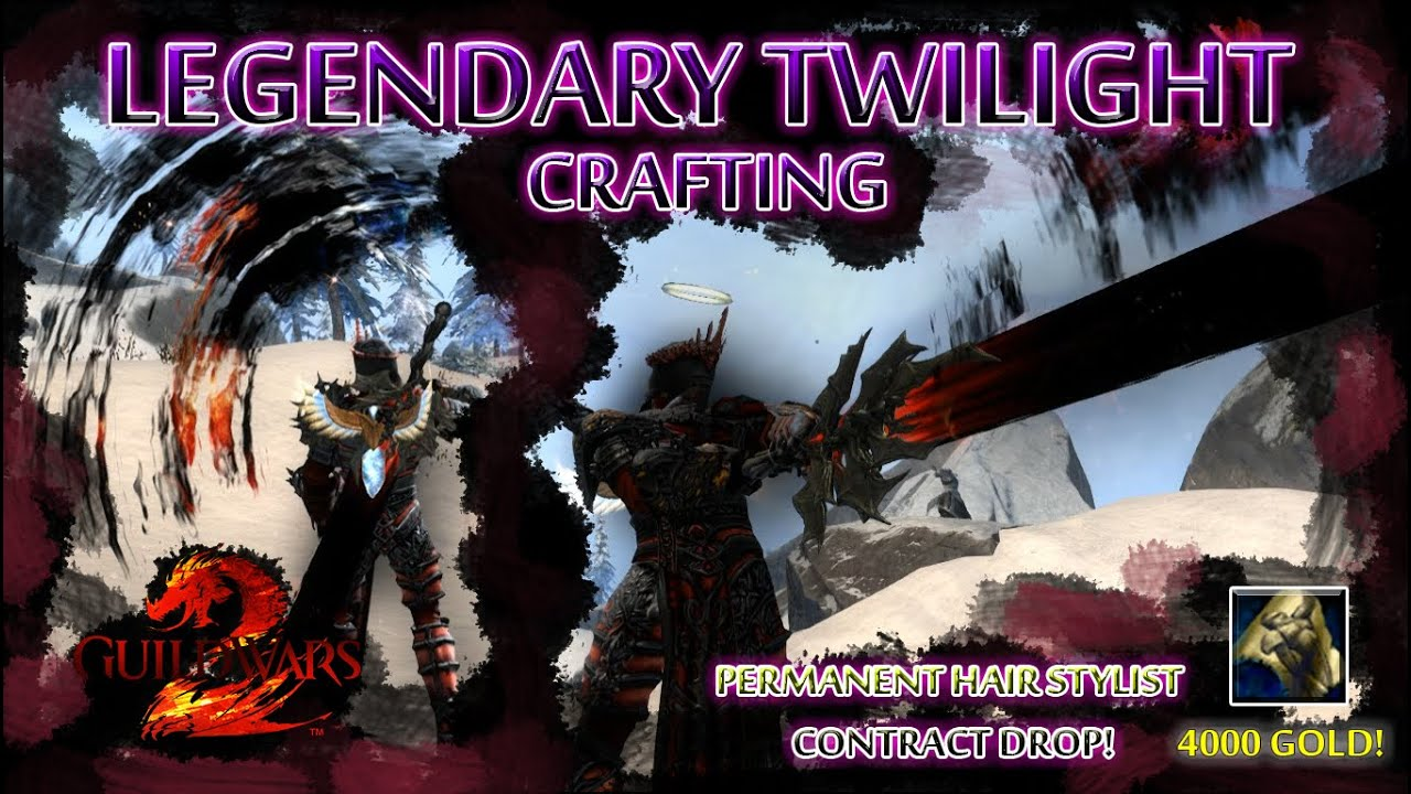 guild wars 2 twilight crafting guide