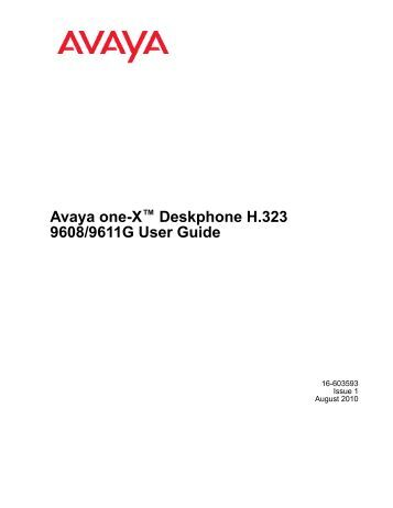 avaya one x mobile user guide