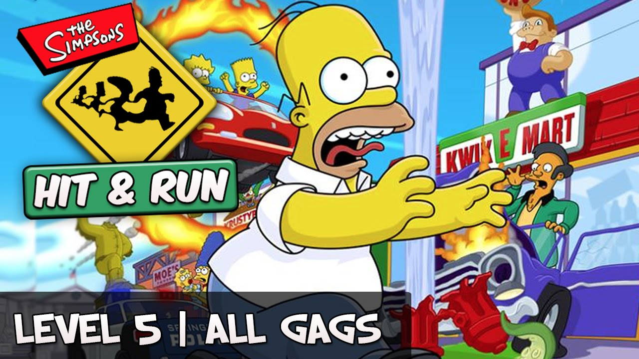 simpsons hit and run guide