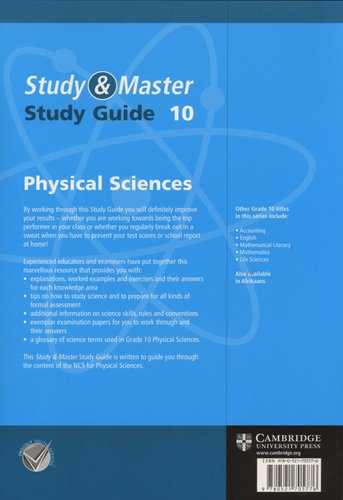 grade 10 physical science study guide