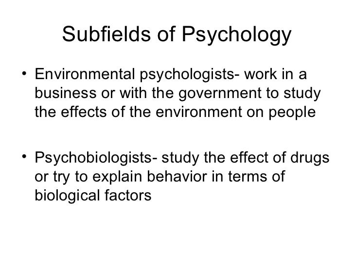 psychology study guide chapter 1
