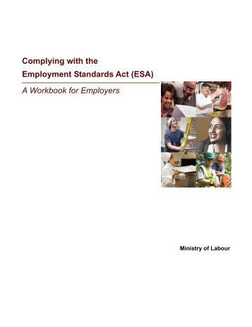 guide to employment standards act