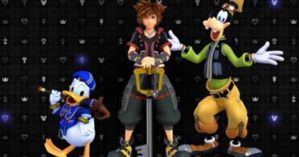 kingdom hearts level up guide