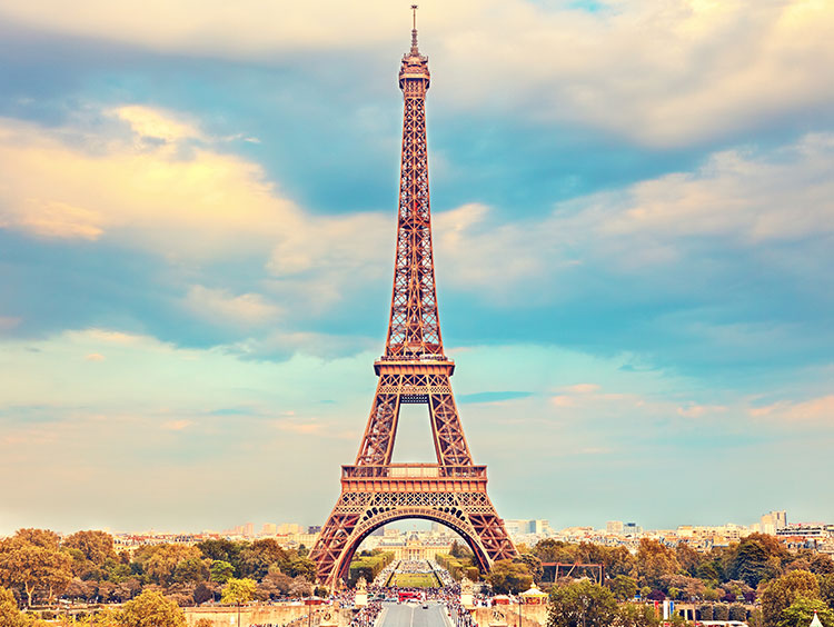 london paris rome guided vacation packages
