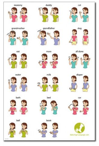 baby signs quick reference guide