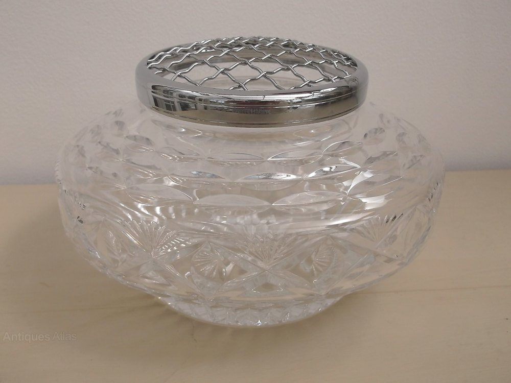 antique crystal bowl price guide