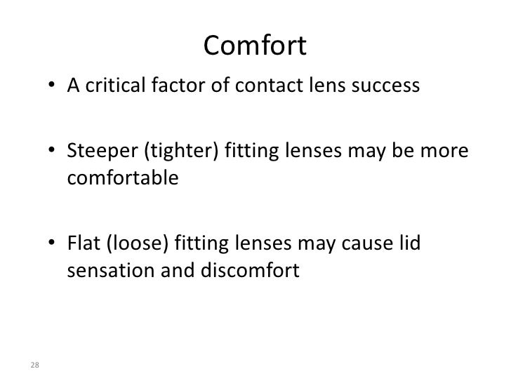 soft contact lens fitting guide