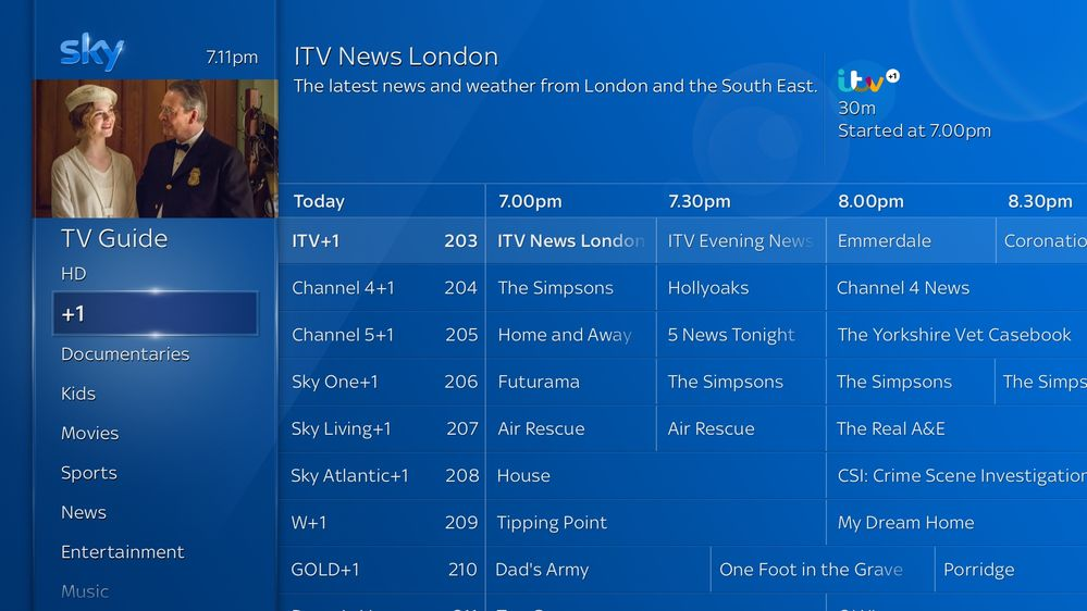 toggle tv guide channel 5