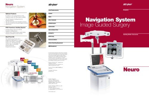 x guide surgical navigation system