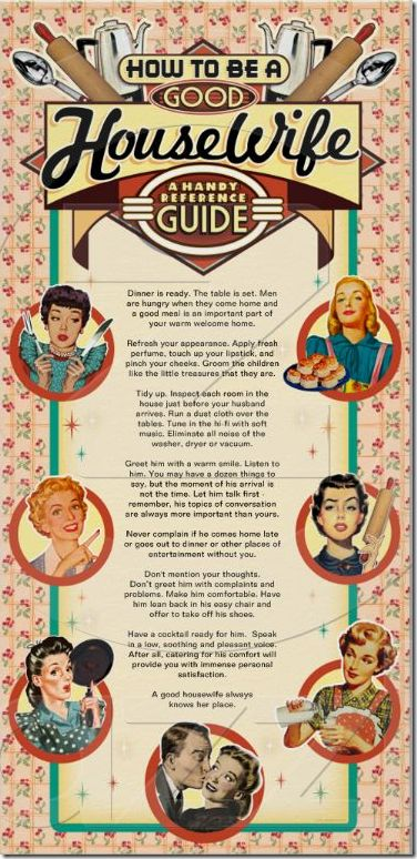 the good wife guide 1955 actual article