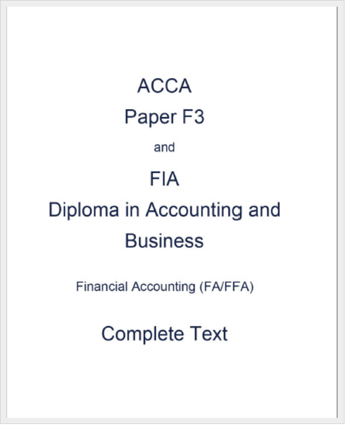 free online intermediate accounting study guide