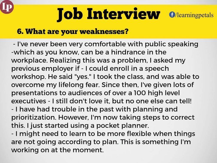 job interview guide questions and answers