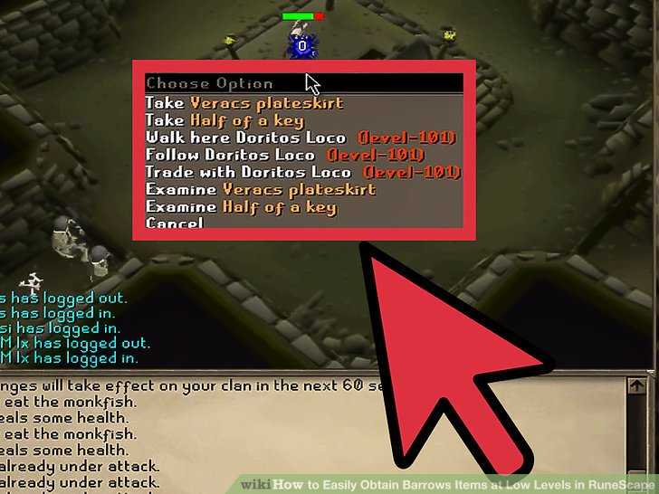 runescape barrows guide low level