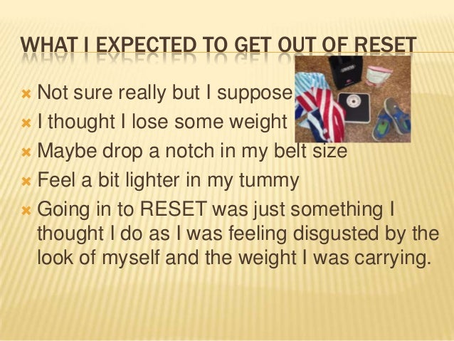usana 5 day reset program guide
